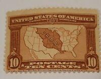 Scott#: 327 - Map of Louisiana Purchase MLH OG