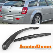 Black Rear Window Windshield Wiper Arm + Blade Fit Chrysler 300C Touring 05-10