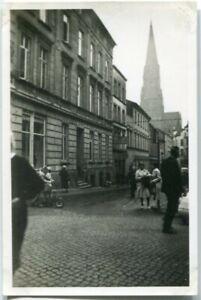Orig. Foto PRENZLAU Denkmal, Straße, Frauen/Kinder 1937