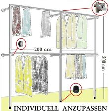begehbarer Kleiderschrank KLEIDERSTÄNDER Kleiderstange  GARDEROBE NEU Art  W.09