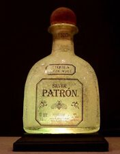 Patron Silver LED Remote Control 16 Color Bottle Lamp Man Cave Game Room