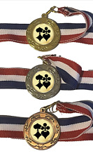 Card Suits 40 mm Emperor Sports Medal Optional Engraving