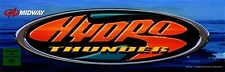 Hydro Thunder Arcade Marquee Midway Translight Header Sign Mylar Backlit