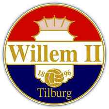 "Willem Ii Fc Netherlands Football Soccer Car Bumper Sticker Decal 4.6""X4.6"""