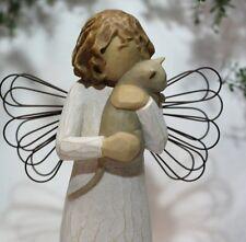 ANGEL statue Cat statue figurine rescue lover animal fairy pet memorial memory