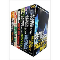 James Patterson Collection Alex Cross Series Cross 6 Books Set Pack Brand NEW