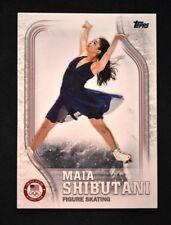 2018 Topps US Winter Olympics Base #US-23 Maia Shibutani