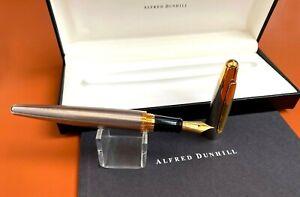 Original Alfred Dunhill 2000 Fountain Pen w/18K Gold Nib, NOS, England (#AR3465)