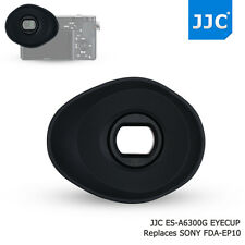 JJC Oval Soft Eyecup for Sony A6300 A6000 NEX-6 7 as FDA-EP10 Eyeglasses User