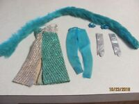Vintage Barbie Fashion 1971 Silver Serenade Almost Complete