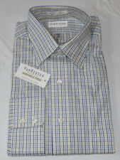 Mens Van Heusen Pinpoint Oxford Wrinkle Free L/S button up shirt 16 34/35