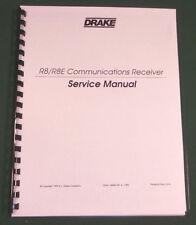 "Drake R8/R8E Service Manual: w/ 11""X17"" Foldouts & Protective Covers!"