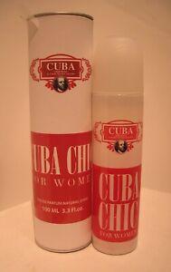 CUBA CHIC Damen Parfum 100 ml By Parfums Des Champs