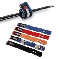 Fishing Rod Band Fixing Tie Strap Elastic Holder Anti Slip Pole Belt Wrap Tools