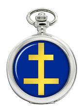Perceptor Cross of Lorraine Pocket Watch