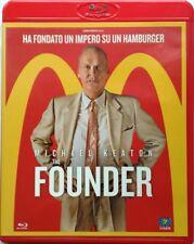 Blu-ray The Founder con Michael Keaton 2016 Usato