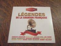 cd album legendes de la chanson francaise
