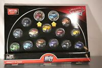 Disney Cars Diecast Mini Racers Variety 15-pack with First-Look Metallic Series