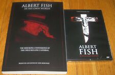 ALBERT FISH SERIAL KILLER  DVD AND BOOK COMBO  - BRAND NEW - FREE SHIPPING