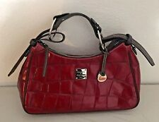 Dark Burgundy Wine  Dark Brown Dooney & Bourke Purse Handbag
