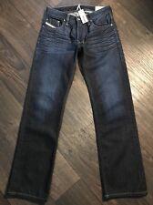 NWT $198 Diesel LARKEE  USA Regular Straight Jeans 27 (29) X 30 Wash 05Z32