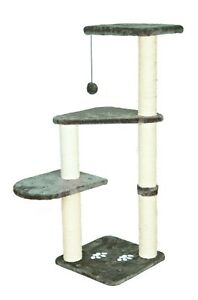 "Cat Tree For Large Cats 46"" Tower H Climbing Pet Scratcing post Kitten Furniture"
