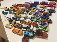 Lot Of50 Vintage Diecast Cars Matchbox Hot wheels & Other Brand cars trucks toy