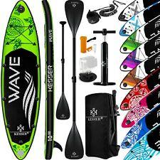 KESSER® SUP Board Set Stand Up Paddle aufblasbar Surfboard Paddling ISUP