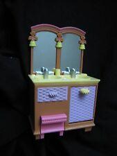 NEW FISHER PRICE Loving Family Dollhouse BATHROOM MIRRORED VANITY SINK Mirror