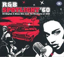 R&B Spotlight '60 2-CD NEW SEALED Fats Domino/Bo Diddley/Chubby Checker/Coasters