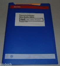 Werkstatthandbuch VW New Beetle ab 1999, Radio, Telefon, Navigation