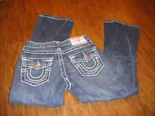 True Religion Girls Sz 7 Joey Super T Jeans