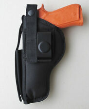 Gun Holster Hip Belt with Magazine Pouch for RUGER SR45 Full Size