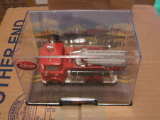 DISNEY PIXAR CARS 2 RED FIRE TRUCK W/ CASE  DISNEY STORE