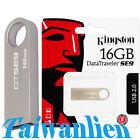 Kingston 16GB 16G DataTraveler DT SE9 USB Flash Pen Drive Memory Stick Key Thumb