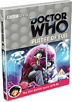 DOCTOR WHO PLANET OF EVIL  TOM BAKER YEARS 1974-81 BRAND NEW/FACTORY SEALED BBC