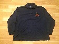 POLO RALPH LAUREN MARINE SUPPLY KANGAROO POCKET RUGBY SIZE XXXL 3XL NAVY BLUE