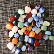 10pcs Mixed Natural Assorted Bulk Tumbled Gem Stone Crystals Colorful Rock Decor