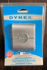 SEALED!!Dynex External USB 2.0 25-in-1 Multiformat Memory Card Reader DX-CR121 -