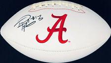 PSA/DNA Alabama #13 TUA TAGOVAILOA Signed Autographed Logo Football HEISMAN?!?