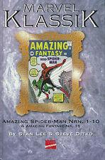 MARVEL classica #1 Spider-Man (1-10 + AMAZING FANTASY 15) tedesco + + + TOP +