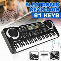 61 Tasten LED Digital E Piano Musik E Keyboard Orgel Geschenk Bestes D8U6