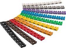 Kabelmarker-Clips ''Ziffern 0-9'', für Kabeldurchmesser bis 4 mm; Kabelmarker-Cl