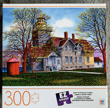 BRAND NEW Milton Bradley 300 piece Jigsaw Puzzle - SOMERSET LIGHTHOUSE - HTF