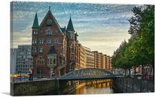 ARTCANVAS Hamburg, Germany Canvas Art Print