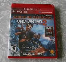 Uncharted 2: Among Thieves *Game of the Year Edition* PS3 NEW/Sealed
