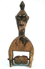 Art Africain - Ancienne Poulie de Métier à Tisser Gouro - Guro Heddle Pulley +++