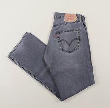 Vintage LEVI'S 501 Grey Regular Straight Mens Jeans 32W 32L 32/32 /J23025