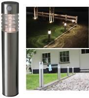 Luxform Lighting Outdoor Garden Path Solar LED High Lumen Lights Lamp Post Light