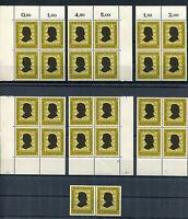 Bund 234 Eckrand VB FN oder Viererblock postfrisch BRD 1956 Robert Schumann MNH